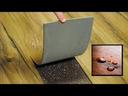 what is waterproof loose lay vinyl plank flooring youtube