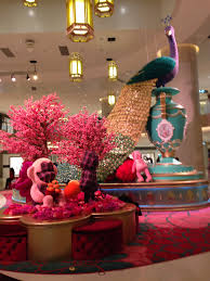 New Year Decorations Pinterest by Chinese New Year Display In A Mall In Hong Kong February 2016