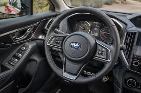 subaru impreza steering wheel 2018 subaru impreza first drive definitely not a rally car