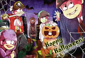 vocaloid halloween monster party night osomatsu san on halloween osomatsu san pinterest anime