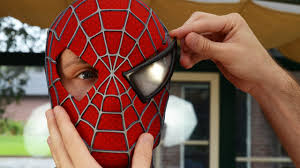 spider man magnetic eyes removal 3d printed shell mask
