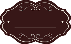 free photo template tag brown empty drink oval fancy label max pixel