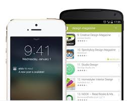 turn android into iphone best places to turn your website into an app for android and