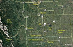 Trans Canada Highway Map by Ebird Counties Of Southern Alberta Birds Calgary