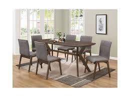 coaster mcbride retro dining room table dunk bright furniture mcbride 107191 retro dining room table by coaster