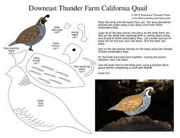 california quail free pattern california quail