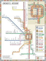 The Loop Chicago Map by Cta Map Inspired By Frank Lloyd Wright Design Cbs Chicago