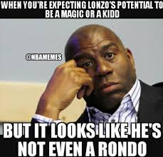Magic Johnson Meme - nba memes magic johnson after lonzo s zero point facebook