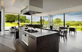 modern country yellow kitchen luxury home design