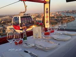 thames barrier restaurant pop up restaurant on emirates air line venueseeker