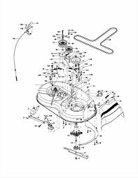 lawn mowers riding lawn mower parts diagram hp rear engine rider