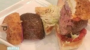 video db burgers with daniel boulud martha stewart