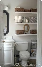 Diy Bathroom Storage Ideas by Our Diy Bathroom Creative Storage Solutions Aol Real Estate