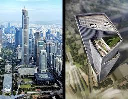 Petronas Towers Floor Plan by Ten Tops The Skyscraper Museum