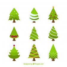 flat tree illustration illustration simple