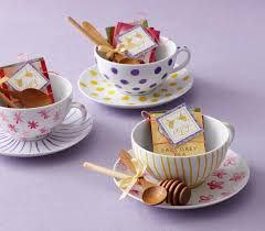 tea cup favors vintage tea party bridal shower favors feminine ceramic cup