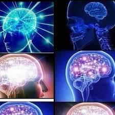 Brain Meme - expanding brain meme home facebook