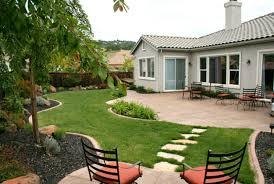 backyard landscaping ideas around deck inspiring landscape design