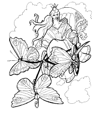 coloring pages challenging coloring pages printable free fairy