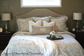 kitchen 69 master bedroom with diy upholstered headboard at