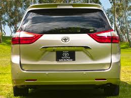 see toyota cars new 2017 toyota sienna price photos reviews safety ratings