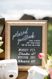 poloroid guest book polaroid guest book sign pinteres