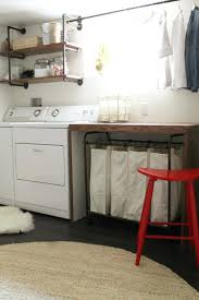 table over washer and dryer extraordinary laundry folding table decor innovative folding table