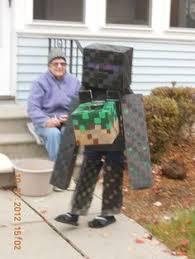 Enderman Halloween Costumes Guide Minecraft Enderman Costume Dress Smart 2014