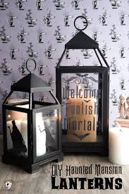 haunted mansion svg diy halloween decor ideas haunted mansion inspired lanterns