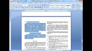 guidelines for writing on plain paper convert a paper into ieee quick conversion guide youtube