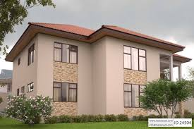 2 Story House Plans With Master On Second Floor 2 Story House Plan With Master Bedroom On The Second Floor Id 24504