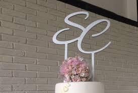 letter wedding cake toppers letters glitter wedding cake topper topper a b c d e f