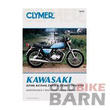kawasaki 74 95 kz400 440 en500 repair manual service manuals