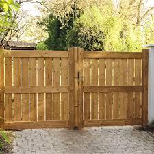 portillon jardin leroy merlin portail battant bois le porge naturel l 300 cm x h 160 cm leroy
