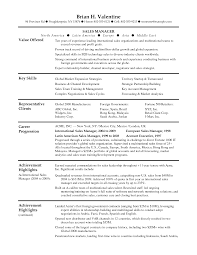 sales resume templates saneme