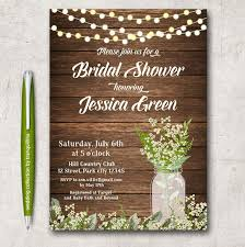 bridal shower invitation templates 26 images of rustic wedding shower invitation template tonibest