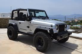 jeep silver 2016 4x4 executive jeep wrangler
