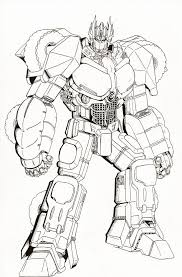 optimus prime coloring pictures free download