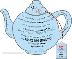teapot invitation template printable tea party invitation bridal