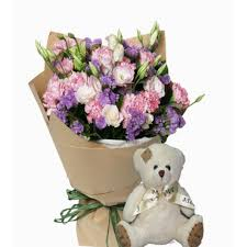 Teddy Bear Delivery Teddy Bear Delivery Carmen Bohol Teddy Bear With Carnation 25