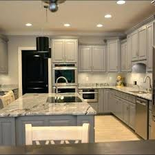 painted and stained kitchen cabinets painted kitchen cabinets grey parkapp info