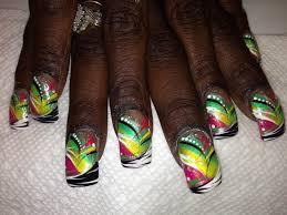 haitian celebration nail art designs by top nails clarksville tn