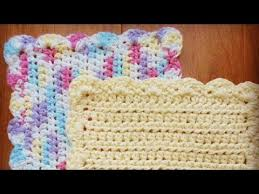 crochet pattern videos for beginners how to crochet a dishcloth washcloth easy step by step for