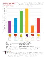 bar graph worksheets sparks