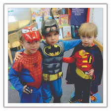 Superhero Family Halloween Costumes The Science Of Superheroes National Association For The