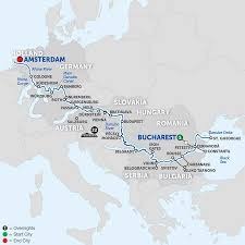 Koblenz Germany Map by Rhine River Cruises Avalon Waterways