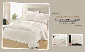 Silk Comforters Amazon Com Lilysilk All Season Silk Comforter With Silk Shell 100
