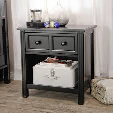 Cpap Nightstand Belham Living Casey 1 Drawer Nightstand Black Hayneedle