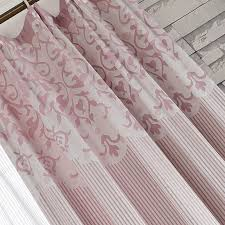 Striped Living Room Curtains by Pink Cotton Palm Tree Striped Living Room Curtains