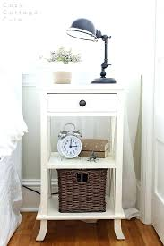 bedroom nightstand ideas small nightstands for bedroom clever nightstand alternatives for